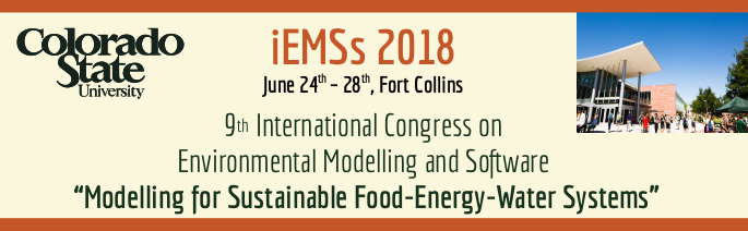 9th International Congress on Environmental Modelling and Software - Ft. Collins, Colorado, USA - June 2018