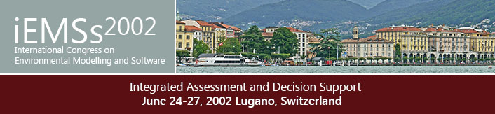 1st International Congress on Environmental Modelling and Software - Lugano, Switzerland - June 2002