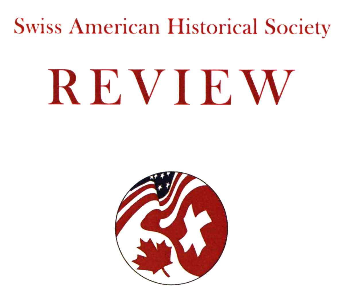 Swiss American Historical Society Review
