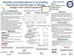 Benefits and Applications of Journaling: Exploring the Lower Boundary for Effective Dosage in Non-clinical Populations
