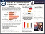 How Well Do Republican Delegates Represent Other Utah Republicans