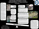 The Paradox of English in Tonga: Attributed Status vs. Social Aversion