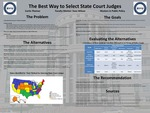 The Best Way to Select State Court Judges