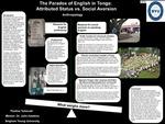 The Paradox of English in Tonga: Attributed Status vs. Social Aversion