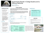 Social Anxiety Disorder in College Students and its Differing Treatments