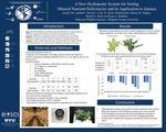 A New Hydroponic System for Testing Mineral Nutrient Deficiencies and its Application to Quinoa by Austen M. Lambert, David L. Cole, D. Taylor Heidenreich, Samuel H. Stapley, Rachel L. Buck, and Bryan G. Hopkins