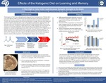 Effects of the Ketogenic Diet on Learning and Memory by Zachary Moore, Colin Kemberling, Spencer Barlow, Erin Saito, and Jeffrey Edwards PhD