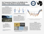 Soil Temperature Patterns in the McMurdo Dry Valleys: A Case Study for Climate Change by Camille Garner and Byron Adams