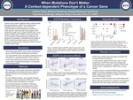 When Mutations Don't Matter: A Context-dependent Phenotype of a Cancer Gene