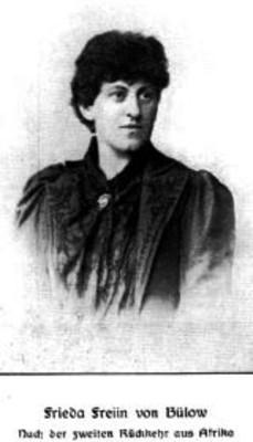 Frieda Freiin von Bülow, 1857-1909